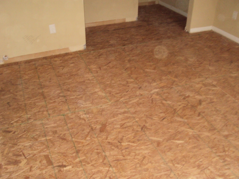 Carpentry New Subfloor Home Improvement In Greenville Sc