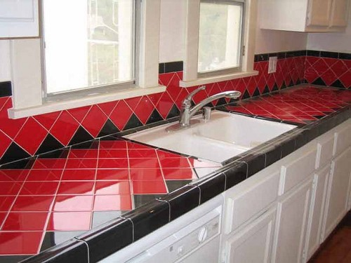 Kitchen Tile Countertops Home Improvement In Greenville Sc