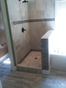Custom bath remodel.